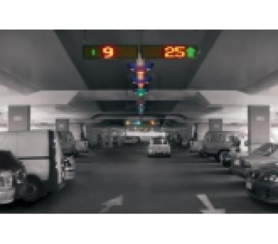 Hệ thống hướng dẫn đỗ xe tự động vận hành bằng Dupline
